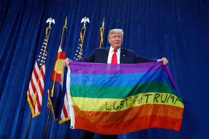 Desperate (for Trump) Housewives and Gays Plan Very Short March on Friday