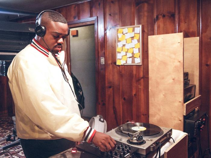 """This image provided by IYO Visuals shows Rosha Washington as DJ Screw in a scene from the visual tribute """"All Screwed Up."""""""