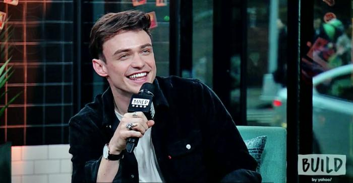 Thomas Doherty in an interview on AOL Build