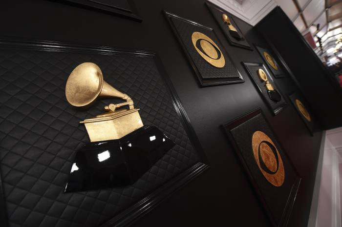 A view of the red carpet appears prior to the start of the 62nd annual Grammy Awards on Jan. 26, 2020, in Los Angeles.