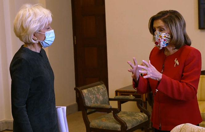 Capitol Viewing: The Lavender Tube on Speaker Pelosi's Interview, Ma Rainey, Funny Boy and More