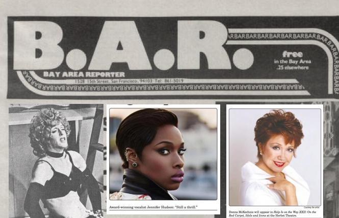 Michael Greer, Jennifer Hudson, Donna McKechnie; just three of the celebrities interviewed in the B.A.R.
