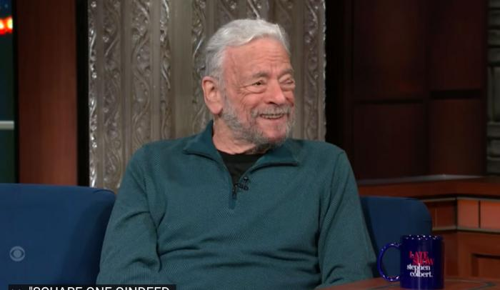 Stephen Sondheim on 'The Late Show With Stephen Colbert'