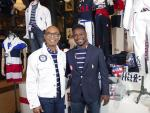 Navy Blazers, Stripes and Flag Scarves for Team USA in Tokyo